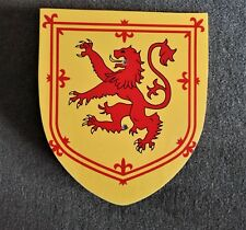 Knight's armour toy shield - Scottish Lion Royal Banner