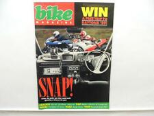 September 1988 BIKE Magazine Daytona Ducati Kawasaki Honda Harlot L9269