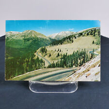Postcard CO Loveland Pass Highway US 6 Colorado Rockies Switchbacks