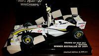 J. BUTTON, Brawn GP BGP 001, Winner Australian GP 2009 - Minichamps, 1:43