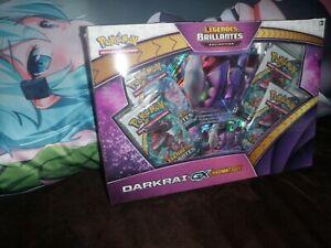 Pokémon Coffret Darkrai GX Légendes Brillantes SL3,5 - Neuf - FR