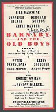 Keith Baxter, signed,  Barnaby & the Boys, Gascoine,  London, 1990,  yk 24