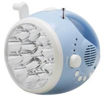 Emergency  Hand Crank Dynamo AM/FM Weather Radio LED Flashlight Charger USA