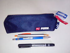 PUMA pencil case dark blue polyester fabric