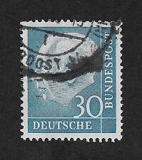 GERMANY 1957 Professor TH Heuss 30 pfg (E2)