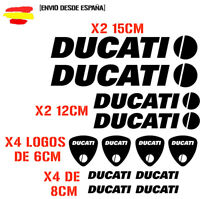 PEGATINA VINILO DUCATI MOTO VINIL STICKER DECAL KIT DE 12 unds