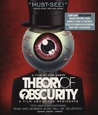 Theory Of Obscurity: A Film About The Residents Blu-ray