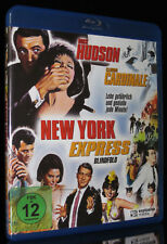 BLU-RAY NEW YORK EXPRESS - BLINDFOLD - ROCK HUDSON + CLAUDIA CARDINALE - KOMÖDIE