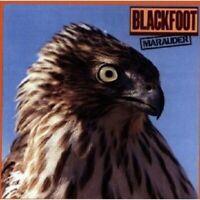 BLACKFOOT - MARAUDER CD ROCK 9 TRACKS NEW!