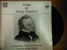 33 RPM Vinyl Songs By Franz Schubert MHS Record MHS7454 Stereo 021615SM