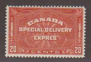 A7411: Canada #E5 Mint, OG, VF, LH; CV H