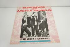 "EURYTHMICS & ARETHA FRANKLIN - 12"" - Sisters Are Doin' It... + ET Mix.  UK Rca"