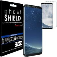 Pack Of 2 Samsung Galaxy S8 Ghost Shielf TPU Curve Full Screen Cover Protector