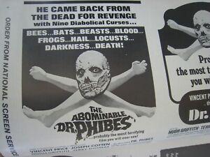 Pressbook  ' Dr. Phibes ' ...Horror