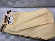 Vintage FARAH Cotton Polyester Pants Men's Size 38 x 30 NEW NWT Maize Yellow