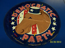 "Democratic Party Election Political USA Decoration Foil 18"" Round Mylar Balloon"
