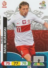 RAFAL MURAWSKI # POLAND POLSKA CARD PANINI ADRENALYN EURO 2012