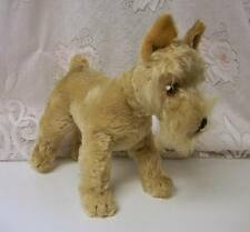 Vintage Mark Steiff Mohair Schnauzer Dog Excelsior Hard to find Soft Toy RARE