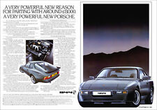 PORSCHE 944 RETRO A3 POSTER PRINT FROM CLASSIC 80'S ADVERT