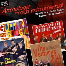 CD Anthologie du rock instrumental, The Shadows, The Ventures, Johnny & The.....