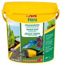 sera Flora Vegetable Herbal Green Flake Spirulina Malawi Mbuna Quality Fish Food