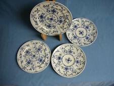 Teller  Royal Tettau Alt Tettau blau, 4 Teile