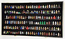180 Lego Men / Legos / Mini Figures Minifigures /Display Case Cabinet - Lockable
