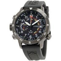 Citizen BN5057-00E Promaster Altichron 46MM Men's Black Silicone Watch
