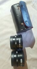 Optex Wide Angle and Telephoto Video Lens Set