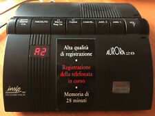 Vintage SIP segreteria telefonica registratore telefonata AURORA 28 recorder