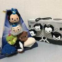 D23 Expo 2015 Disney Store Fantasia Tsum Tsum Box Plush Set LE 2000 from JAPAN