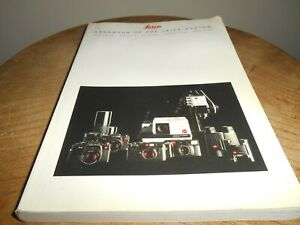 Photography Book...LEICA ..HANDBOOK OF THE LEICA SYSTEM (1989 edition)