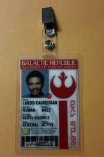 Star Wars Id Badge - Galactic Republic Lando Calrissian prop cosplay costume