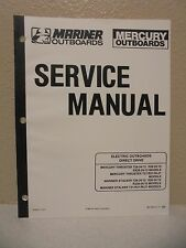 Mercury Mariner Outboards Service Manual Binder Electric Outboards Direct Drive