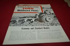 Ford Tractor Moldboard Plows For 1957 Dealers Brochure AMIL15