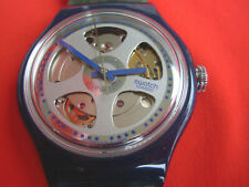 SWATCH AUTOMATIC BARU - SA102 - 1993 - NEW - leather strap - RARE