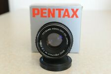 Pentax SMC - 50mm f2 M Obiettivo con messa a fuoco manuale per SLR Inscatolato Nuovo