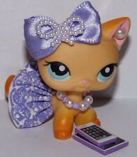 Littlest pet shop clothes LPS accessories Custom lot skirt Bow*Cat NOT INCLUDED*
