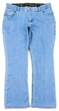 Riders By Lee Womens Indigo Relaxed Straight Jeans Plus Size 18W