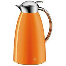 Alfi Isolierkanne Gusto Thermokanne Metall Drehverschluss Kaffeekanne Mango 1L