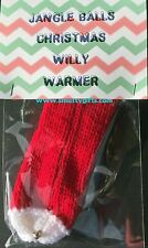 Jingle Balls Knitted Willy Warmer ~ Adult Rude Novelty Gift