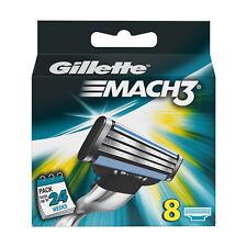 Neuf d'Origine Lames Gillette Mach3 - Boîte de 8 recharges