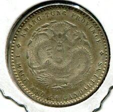 Kwangtung, China 1909-11 20 Cents Y#205, BU