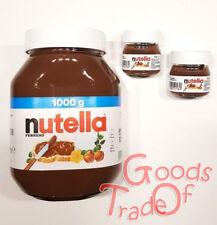 FERRERO NUTELLA Brotaufstrich / Schokolade / 1000g / 1Kg / + 2 x 25g Italienisch
