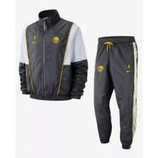 Nike NBA Golden State Warriors Men's Court Side Track Suit AH8816 060 XL
