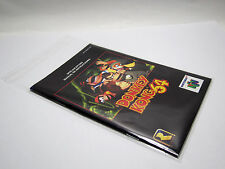 100 protection Coque pour Nintendo 64 n64 instructions resealable Manual protectors