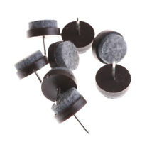8Pcs 20Mm Furniture Glides Sliders Chair Leg Floor Protector Table Nail Set ^S