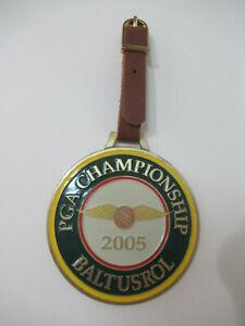 2005 PGA Championship Baltusrol Luggage Tag Gift by HEAD NIB