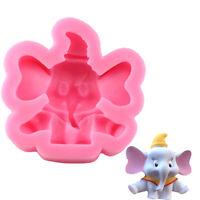 Elephant Silicone Mold Fondant Cake Decorating Tools Chocolate Baking Moulds  GD