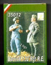 ALLARMI!! by ITALIAN KITS 35012 - CARRISTA 132 Rgt R.E. - 1/35 RESIN KIT